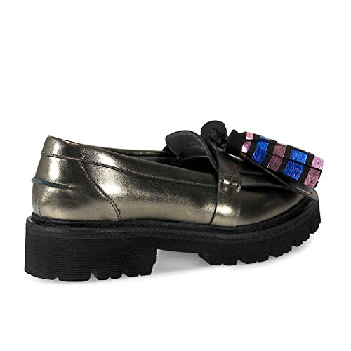 MOCASIN 2141MDS36 TASSEL METAL LOAFER MSGM