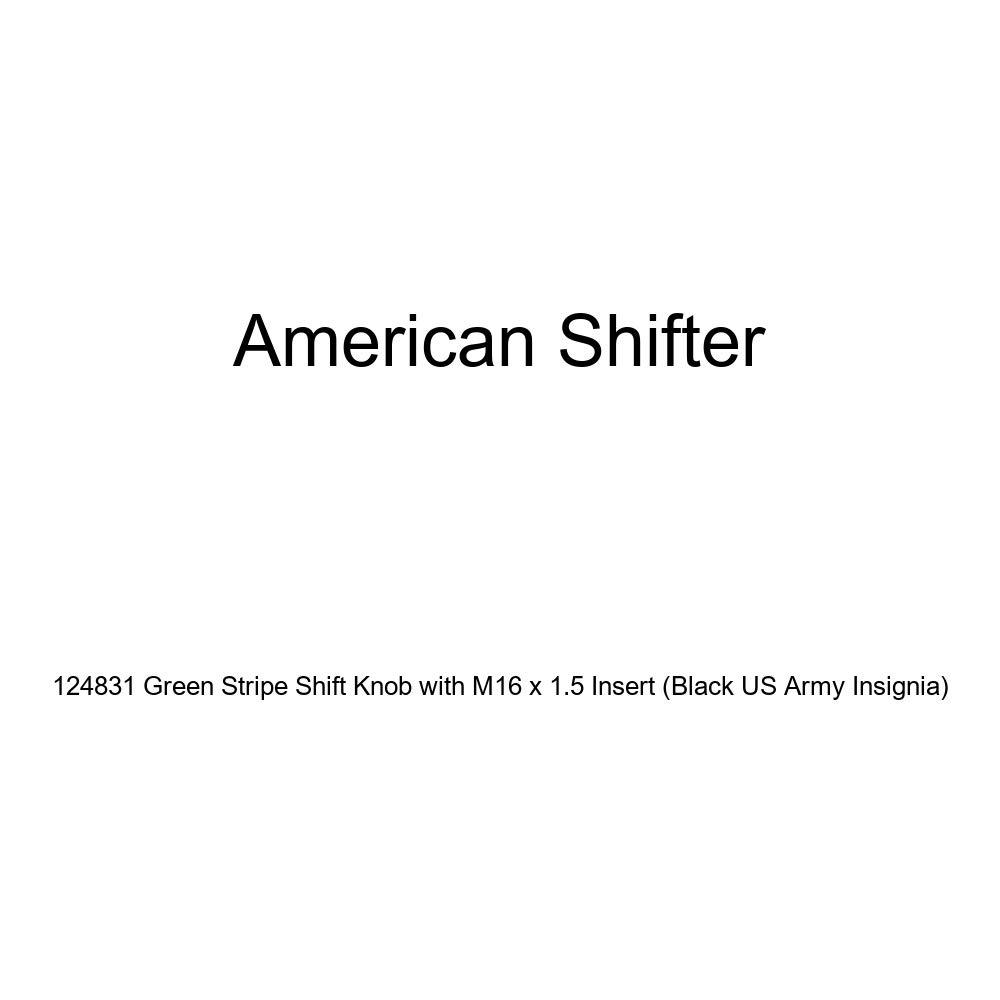 Blue Brigadier General American Shifter 207177 Green Retro Metal Flake Shift Knob with M16 x 1.5 Insert