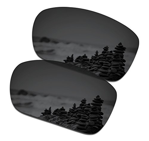 SmartVLT Men's Stealth Black Replacement Lenses for Oakley Turbine Sunglass by SmartVLT