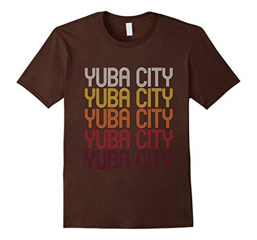 Men's Yuba City, CA   Vintage Style California T-shirt Large - Yuba City Ca
