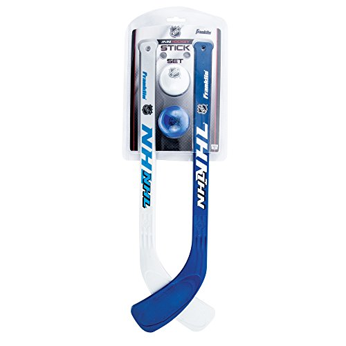 Franklin Sports Mini Hockey Stick and Ball Set - NHL - Includes 2 Mini Sticks and Foam 2 Balls ()