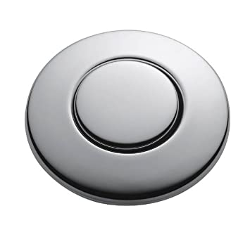 InSinkErator STC CHRM SinkTop Switch Push Button, Chrome