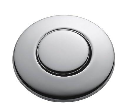 Beau InSinkErator STC CHRM SinkTop Switch Push Button, Chrome