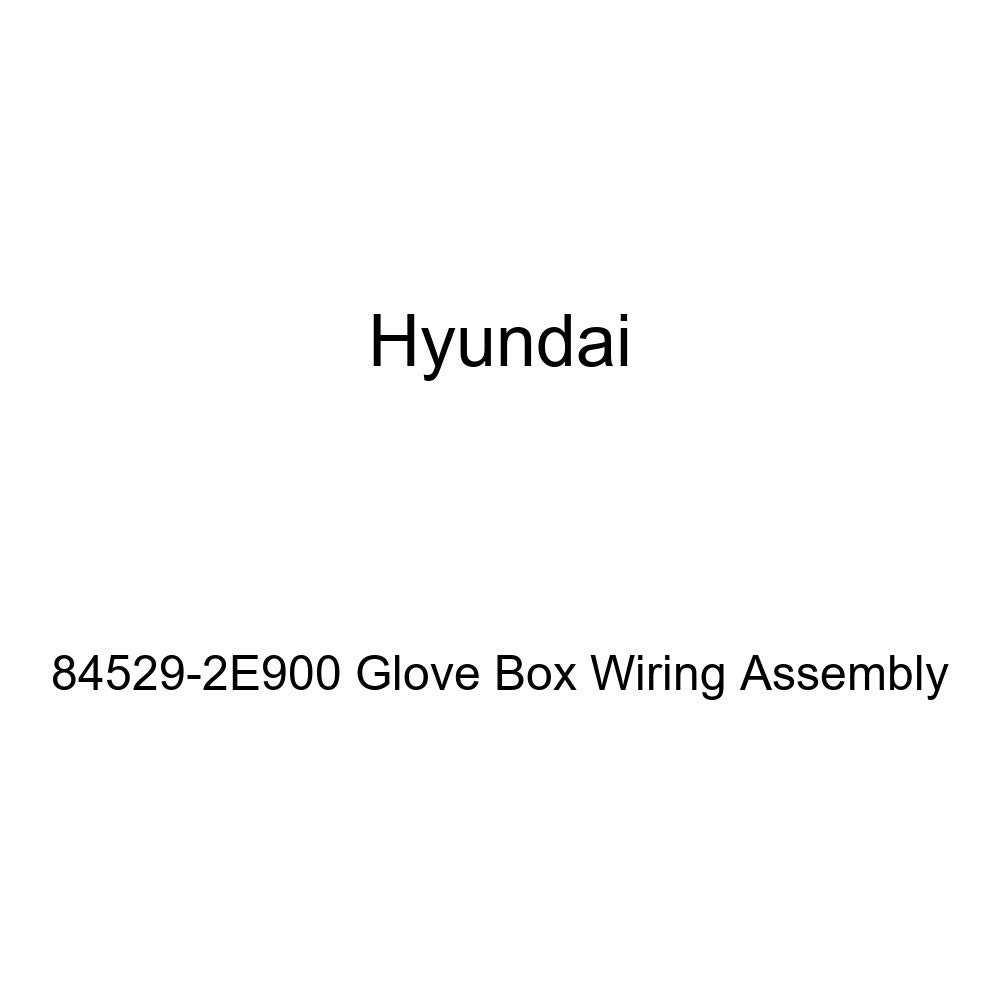 Genuine Hyundai 84529-2E900 Glove Box Wiring Assembly