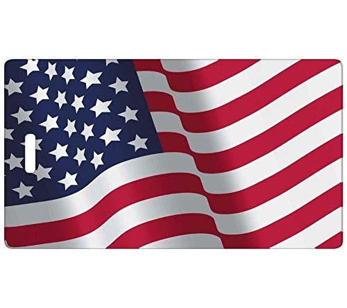 Comfy Leads Patriotic Luggage Tag, 2