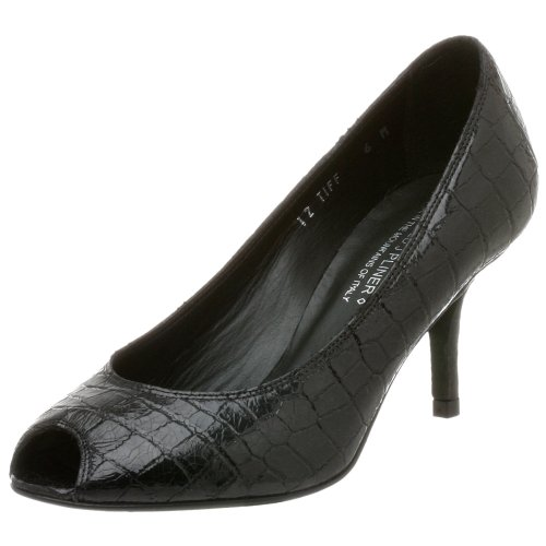 Donald J Pliner Women's Tiff Peep Toe Pump,Black,5 M