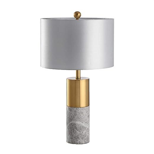 Lámpara De Mesa De Mármol Minimalista Europea Estudio Luz De ...
