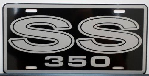 SS 350 SUPER SPORT METAL LICENSE PLATE