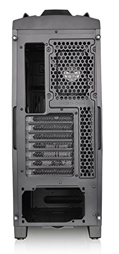 Thermaltake Versa N24 Black ATX Mid Tower Gaming Computer Case Chassis with Power Supply Cover, 120mm Rear Fan preinstalled. CA-1G1-00M1WN-00 by Thermaltake (Image #10)