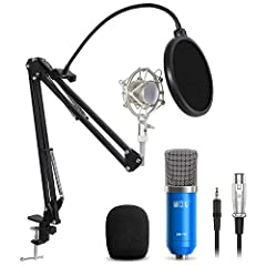 Description: This XRL to 3.5mm condenser vocal microphone adopts the exacting complete electronic circuit control and gold-plate diaphragm capsule. With a good cardioid polar pickup pattern, high output and low self-noise function, the microp...