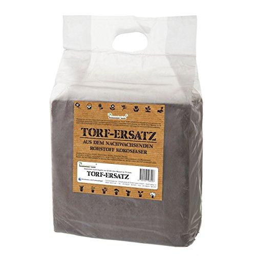 Torf Ersatz 70 L Kokoserde Blumenerde ungedüngt & torffrei - Pflanzerde für Obst, Gemüse, Zierpflanzen und Exoten