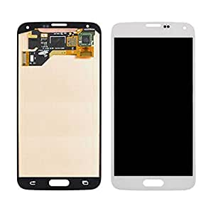 generic white for samsung galaxy s5 lcd. Black Bedroom Furniture Sets. Home Design Ideas