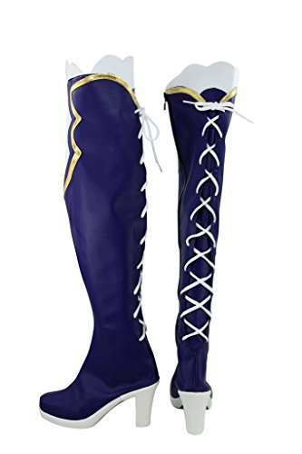 Choujigen Game Neptune Game Noire Cosplay Shoes Boots Custom Made 6qw37k