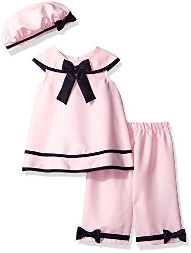 rare-editions-baby-girls-nautical-capri-set-pink-navy-12m