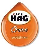 tassimo hag - Tassimo Cafe HAG Crema Decaffeinated (pack of 2)