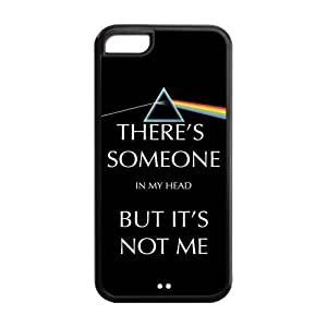 Danny Store Hard Rubber Protection Cover Case for iPhone 5C - Pink Floyd