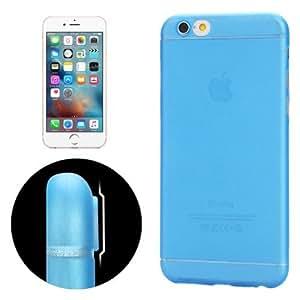 Carcasa iphone 6/6S azul Ultrathin Camera protección Design Translucence PP case