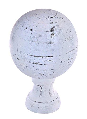 Dalvento Medium Londoner Finial- White Antique by Dalvento (Image #1)