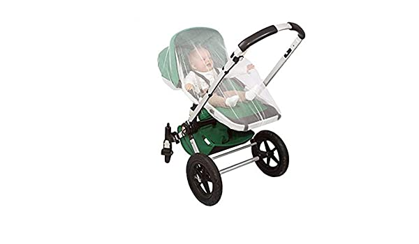 QUINNY Buzz Xtra Baby Stroller Mosquito Insect Net Mesh White Shield Cover NEW