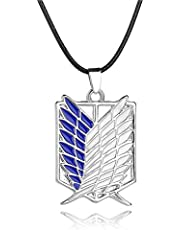 Attack on Titan necklace-Stainless Steel