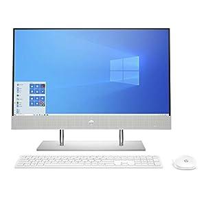HP AIO Core i5 10th Gen 23.8-inch(60.5 cm) FHD with Alexa Built-in (8GB/256 GB SSD+1TB HDD/Windows 10/MS Office 2019…