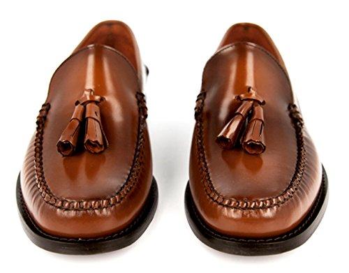 KERRIMAN Castellanos Hombre Marron KARIKOLE con BORLAS MARRÓN KARICOLE: Amazon.es: Zapatos y complementos
