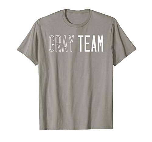 Gray Team T-shirt Competition Sports Games Event Camp - Carnival Shirts Camp