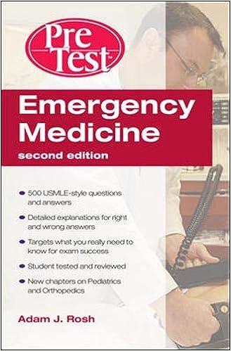 Kết quả hình ảnh cho Emergency Medicine PreTest Self-Assessment and Review, Second Edition