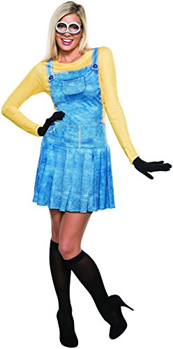 Rubie's Women's Minions Female Costume, Yellow, Large