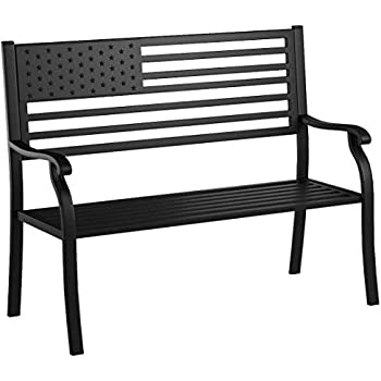 Amazon Com Oakland Living 6011ab Proud American Bench