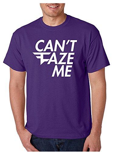 Allntrends Men's T Shirt Can't Faze Me Popular T Shirt Cool Tshirt for sale