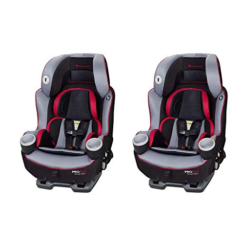 Baby Trend Protect Series Elite Infant Safety Convertible Latch Car Seat, Apollo (2 Pack)