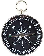 Easyeeasy Camping Pocket Kompas, Zakken Mini Kompas, Wandelkompassen, Outdoor Reiskompassen, Lichtgewicht Aluminium, Draagbaar Survival Sport Navigatie Kompas voor Kamperen Wandelen