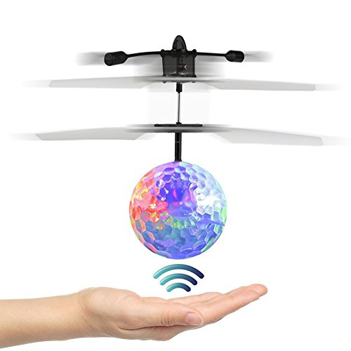 Flying Ball,Children Flying Toys, RC Drone Helicopter Ball Built-in Shinning LED Lighting for Kids, Teenagers – RC Toy for Children-VENAS