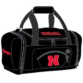 Officially Licensed NCAA Nebraska Cornhuskers Roadblock Duffle Bag