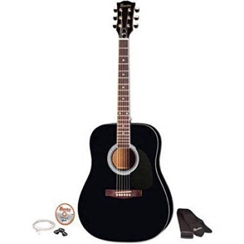 Gibson MA41BKCH 41'' Full Size Acoustic Guitar Kit, Black by Gibson