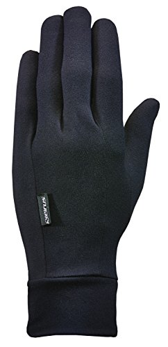 (Seirus Innovation Unisex Hws Heatwave Glove Liner, Black, Large/X-Large)