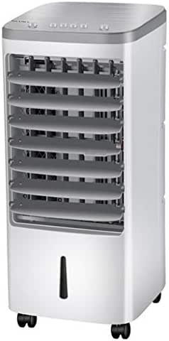 Zhaowei Household Air Cooler Single Cold Type Electric Fan Mobile Vertical Cooling Fan (White)