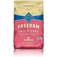 Blue Buffalo Freedom Grain Free Recipe for Dog, Small Breed Chicken Recipe, 11 lb