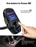 VicTsing Bluetooth FM Transmitter for Car, Power