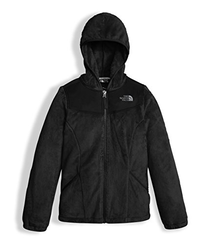 - The North Face Girl's OSO Hoodie - TNF Black - XS