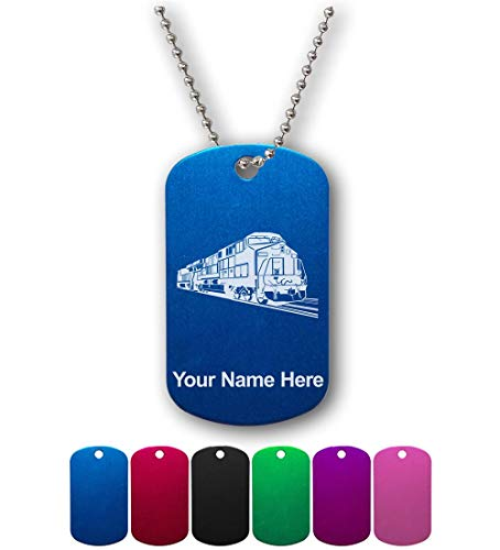 Military Style ID Tag, Freight Train, Personalized, used for sale  Delivered anywhere in USA