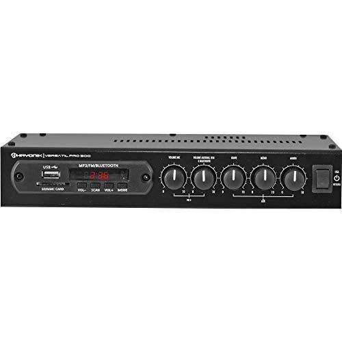 Amplificador 50W com Bluetooth Versátil, Hayonik, PRO-500, Preto