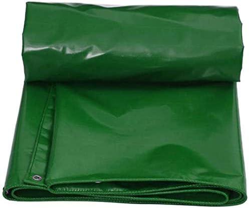 防水ヘビーデューティターポリン高密度織りポリエチレンターポリン、グリーン、100%カーガーデンルーフカモフラージュテント(サイズ:5 * 6m)