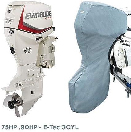 """Evinrude Outboard Storage Full Cover E-Tec V6 2.6L 135HP-200HP 25/"""""""