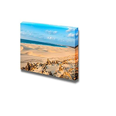 Canvas Prints Wall Art - Beautiful Scenery/Landscape Sand Dunes in The Desert | Modern Wall Decor/Home Decoration Stretched Gallery Canvas Wrap Giclee Print & Ready to Hang - 16