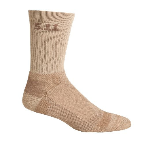 5.11 Tactical 59047 Level 16-Inch Sock, Coyote, Large