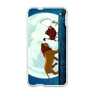 HTC One M7 Phone Case White Lion King ESTY7809495