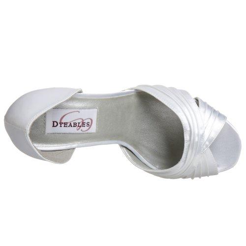 Het Witte Sandalenwit Van De Verfwens
