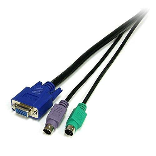 Cable KVM Ultra Delgado de 3 m Startech SVECONUS10 VGA, USB
